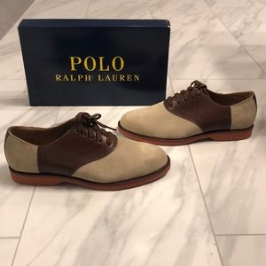 Mens Polo Ralph Lauren Leather and Suede Shoes
